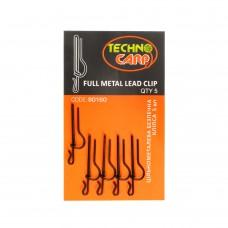 Цельнометаллическая безопасная клипса Full Metal Lead Clip 5шт.
