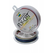 Шнур плетенный NTEC FlayCat 10Lb 0,12 multicilor137м