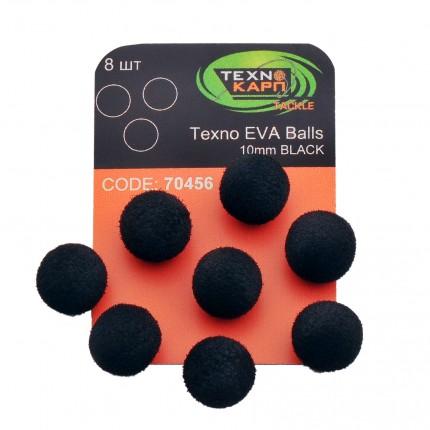 Texno EVA Balls 10mm black уп/8шт