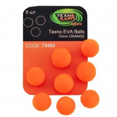 Texno EVA Balls 10mm orange уп/8шт