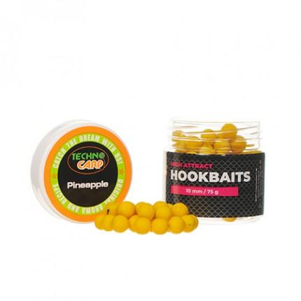"""Бойлы насадочные HookBaits """"Pineapple"""" d.10мм 75грамм"""