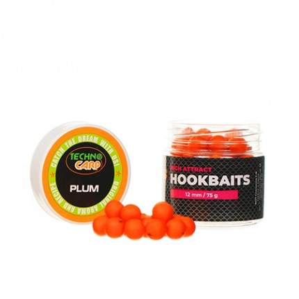 """Бойлы насадочные HookBaits """"Plum"""" d.12мм 75грамм"""
