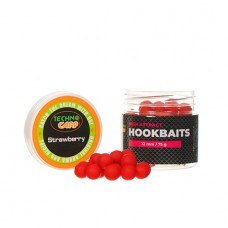 """Бойлы насадочные HookBaits """"Strawberry"""" d.12мм 75грамм"""