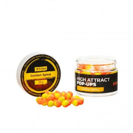 Бойлы Pop-Up Golden Spice 8мм 25грамм