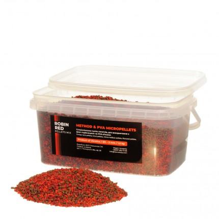 Method & PVA Micropellets Robin Red Mix 1.5kg