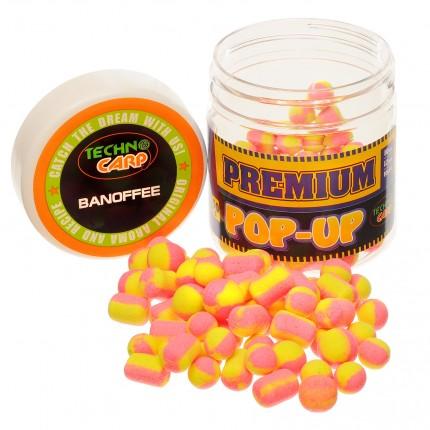 Бойлы Pop-Up Premium Banoffee 10,12,10*14mm. 50гр