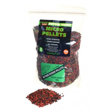Method Feeder Micro Pellets Krill & Halibut mix