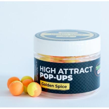 Бойлы Pop-Up Golden Spice 10мм 25грамм