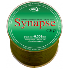 Леска Synapse CARP 0.309мм 1000м