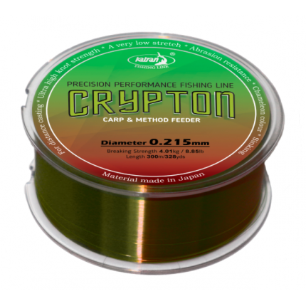 Леска Crypton Carp & method feeder 0,234 mm