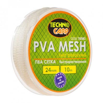 PVA сетка быстрорастворимая 24мм, 10м.