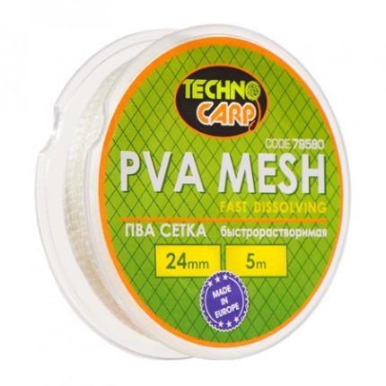 PVA сетка быстрорастворимая 24мм, 5м.