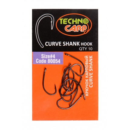 "Крючок карповый ""Curve Shank"" №4"
