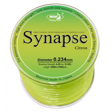 Леска Synapse Citron 0,370 mm 1000m