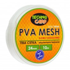 PVA сетка медленно растворимая 24мм, 10м.